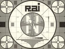 Immagine apertura trasmissioni tv anni 60