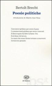 Bertolt Brecht, Poesie politiche