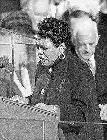 Maya Angelou nel 1993