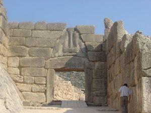 Porta dei leoni di Micene 2