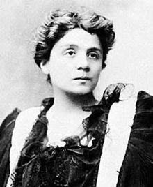 Eleonora Duse, 1896, ritratto fotografico di Aimé Dupont