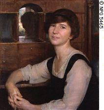 Freya Stark, ritratto di Herbert Olivier, 1925