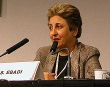 Shirin Ebadi, Nobel per la pace 2003